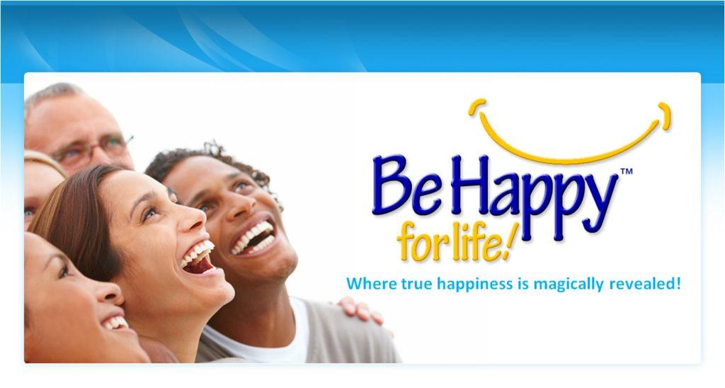Be Happy For Life Homepage