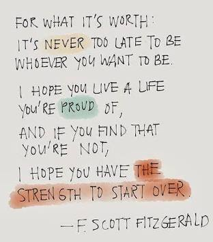 Spiritual QuotesF Scott Fitzgerald Quotes For What Its Worth